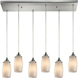 ELK Lighting 10223/6RC-COC Favelita Mini Pendant Satin Nicke