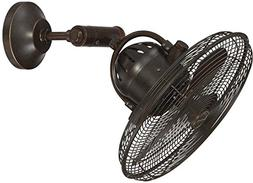 Outdoor Wall Mount Fan by by Craftmade BW414AG3 Bellows IV 1