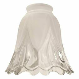 Craftmade 2.25 in. 346 Scalloped Bell Shaped Glass Fan Shade