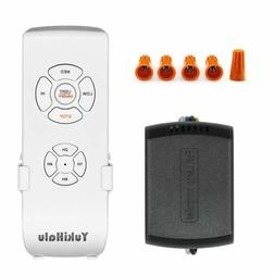 YUKIHALU 3-in-1 Small Size Universal Ceiling Fan Remote Cont