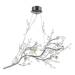 ELK Lighting 30032/10 Viviana Chandelier Polished Chrome