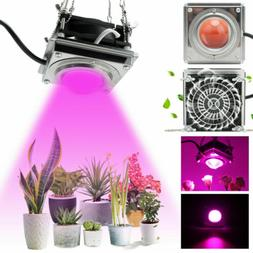 300W LED Grow Light COB Lamp With Cooling Fan for Bloom Veg