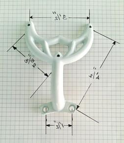"""42"""" White Ceiling Fan Blade Arm Replacement Bracket Fits Hun"""