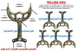 """5 - 52"""" Antique Brass Ceiling Fan Blade Arms, Replacement Br"""