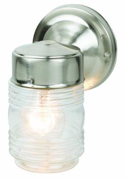 "Design House 507806 Jelly Jar Outdoor Downlight, 4.5"" x 7.5"""
