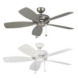 """Monte Carlo 52"""" Light Cast Ceiling Fan With Uplighting Pul"""
