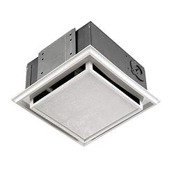 Broan 682 Duct-Free Ventilation Fan with Charcoal Filter, Wh