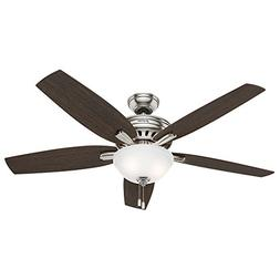 Hunter Fan Company 54162 Newsome Ceiling Fan With Light 56""