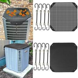 Air Conditioner Cover Outdoor Protective Cover Case Dust Net