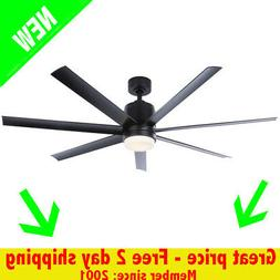 Blitz 56-in LED Indoor/Outdoor Mount Ceiling Fan with Light