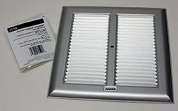 Broan BP24 Exhaust Fan Grille Metal 10 1/4 In Square