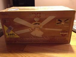 """Designers Choice Ceiling fan 52"""" Reversible White/Rosewood R"""