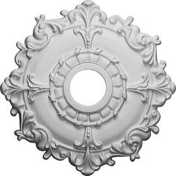Ceiling Medallion18 Primed Medallion Canopy Cover Trim Acces