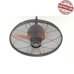 "Commercial Residential Ceiling Fan 3 Blade 20"" Indoor Outdoo"