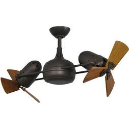 Matthews Fan Company DG-TB-WD Ceiling Fan, Textured Bronze F