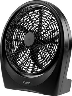 O2COOL Fan 10 inch Battery or Electric Operated Indoor/Outdo