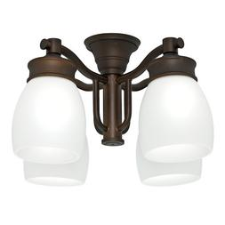 Casablanca 99091 Outdoor 4 Light Fixture, Maiden Bronze