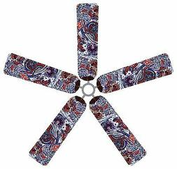 Flaming Dragon Ceiling Fan Blade Covers