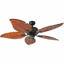 Honeywell Sabal Palm 52-Inch Tropical Ceiling Fan with Sunse