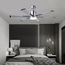 Hot 52 Industrial Ceiling Fan with 6 Aluminum Fan Blades &Wh