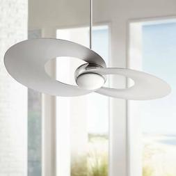 "52"" Innovation Brushed Nickel LED Ceiling Fan"