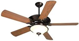 Craftmade K10722 Ceiling Fan Motor with Blades Included, 52""