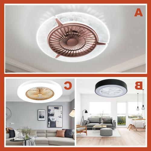 3 style macarons modern ceiling fans led