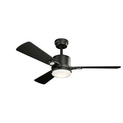 Kichler Ceiling Fan with Kit, Blade