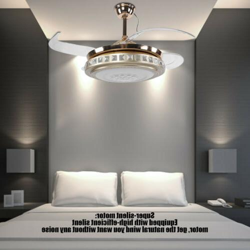 """42"""" Light W/Remote Dimmable Chandelier"""