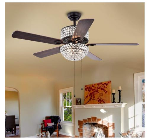 "42"" Ceiling Fans with LED Chandelier"
