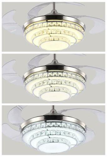 """42"""" Chandelier Light Invisible Remote Control"""