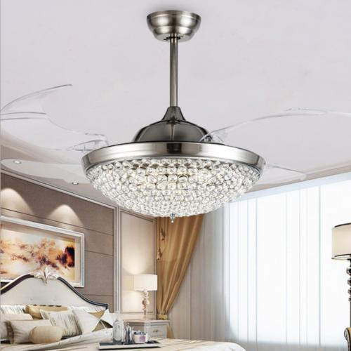 "42"" with Modern Remote Chandelier Lamps"
