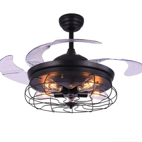 "42"" Retro Ceiling Fan Light Fixture Chandelier Pendant Lamp"