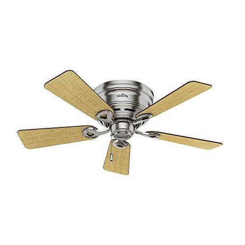 "Hunter Hunter Haskell Ceiling Fan with 42"","