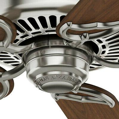 Casablanca Brushed Nickel Fan 59511 New