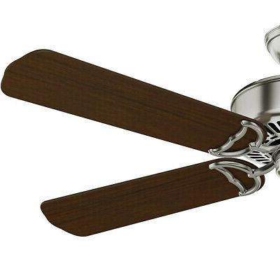 "Casablanca 54"" Panama DC Brushed Walnut Fan New"