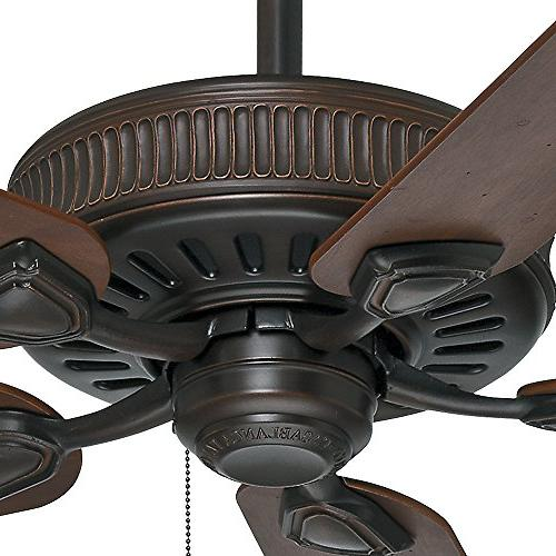 Casablanca Ceiling Distressed Brushed Cocoa