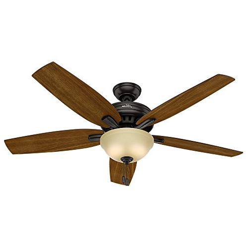 Hunter Newsome Premier Ceiling Fan with