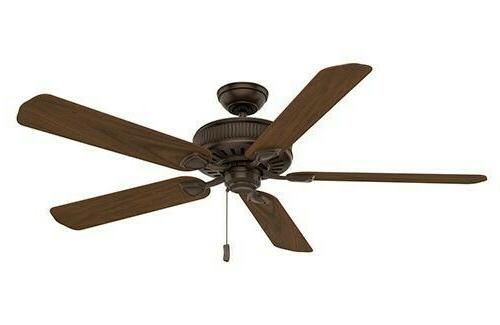 """Casablanca 55001 Ainsworth 60"""" Brushed Cocoa Ceiling Fan wit"""
