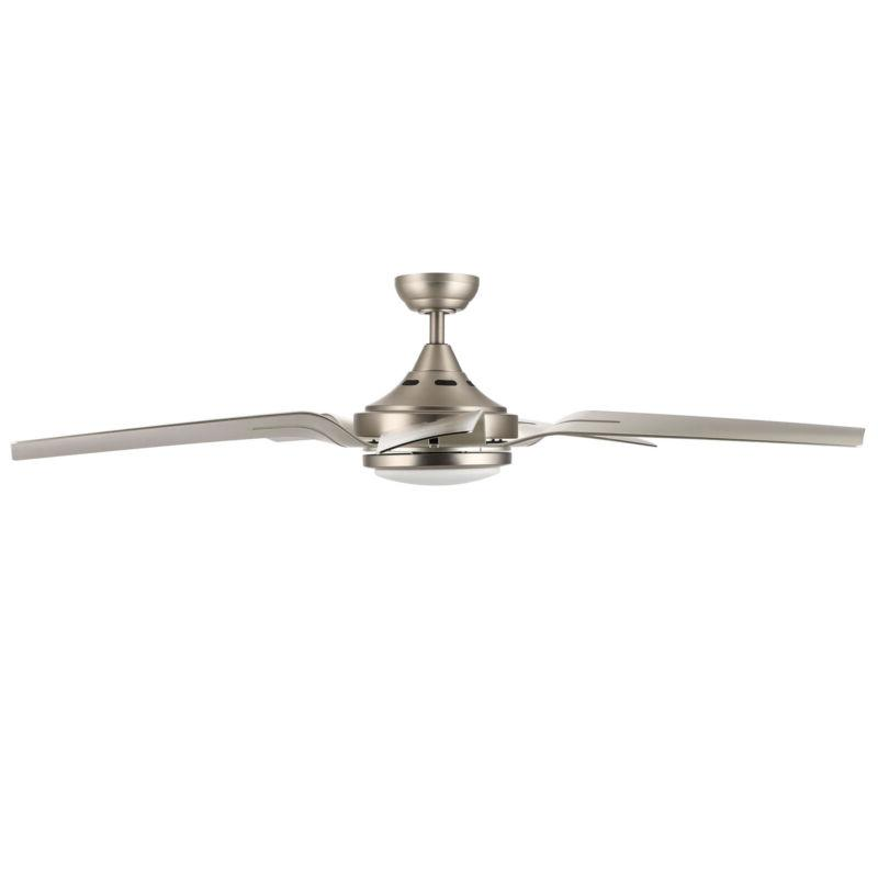 56'' Brushed Nickel LED Light Reversible Control