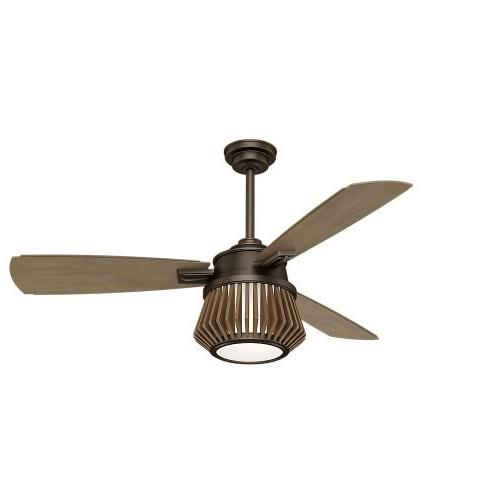 Casablanca 59162 56 in. Chocolate Timber Plywood Indoor Ceiling Fan