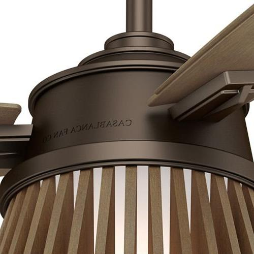 Casablanca 59162 Glen 56 Chocolate Timber Plywood Indoor Ceiling Fan with