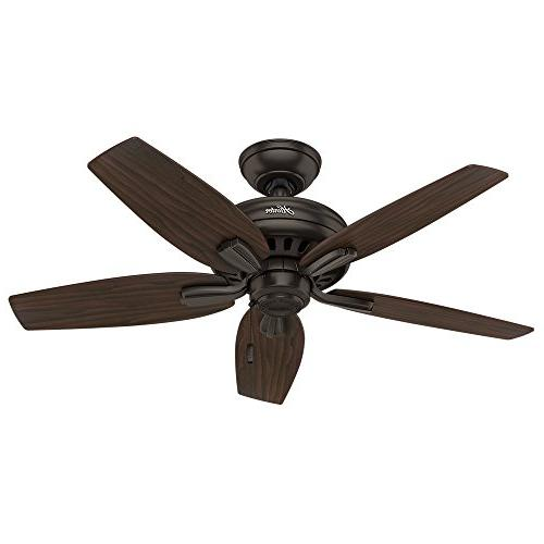 Hunter Company Ceiling Fan, Premier Bronze