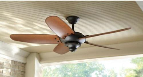 Home Collection Altura 60 in. Outdoor Bronze Ceiling