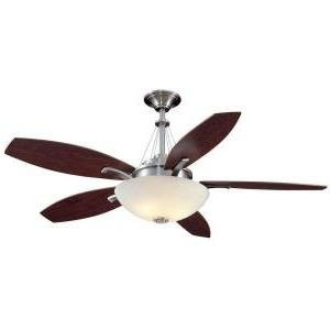 brookedale ceiling fan brushed nickel