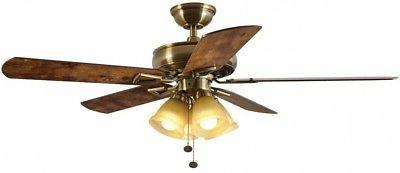 Ceiling Fan With Kit Inch Reversible 3