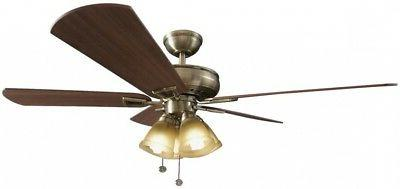 Ceiling Kit Antique Brass 52 Inch 5 Reversible 3