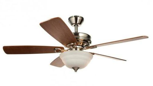 Hyperikon Ceiling Fan with Remote 42-Inch 42 Inch Nickel New US