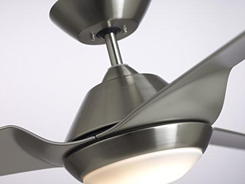 Sweep 3-Blade Ceiling Fan with LED Lighting Wall Control