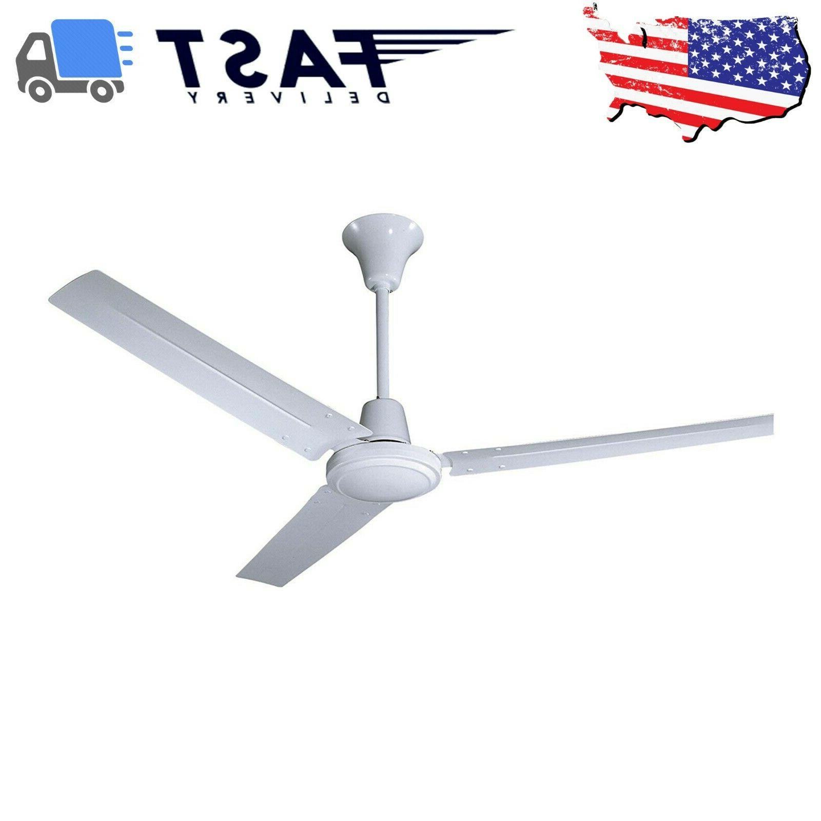 commercial ceiling fan industrial garage big high
